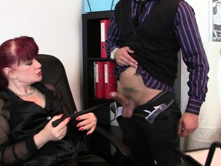 Steaming office mature dual invasion porn tube
