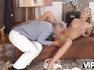 VIP4K. Angel-face bj's elderly stiffy and gets it in her sensitiv sex tube
