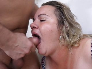 Thick jug grannie with bf best porn