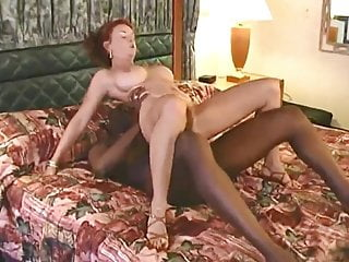 Mature and two big black cock sex video
