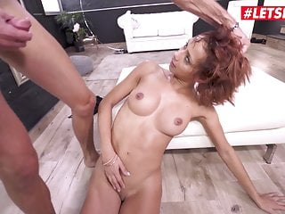 LETSDOEIT yam-sized man sausage anal invasion Makes Her To spray - Veronica Leal sex tube
