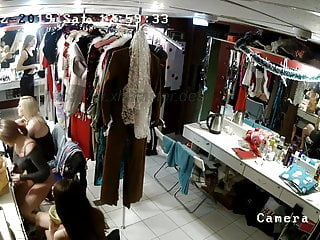 Hidden camera in the strippers ' locker apartment freeporn