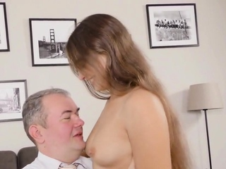 Fervid college girl was tempted and expanded by aged sc76MSu freesex