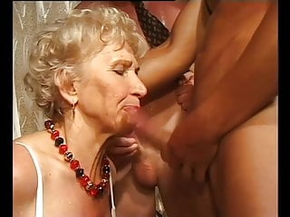Gilf gets porked with trio dudes pop-shots freeporn