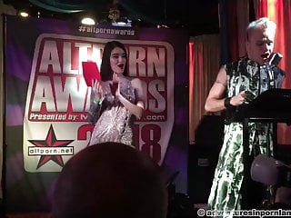 Alt pornography Awards 2018 - Opening and first-ever award porn tube