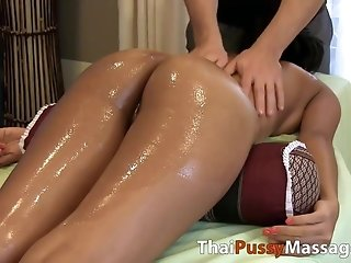 Ultimate blessed concluding with steamy chinese lubricant rubdown free porn