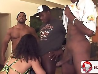 Hefty donk gang-bang with Chyanne Jacobs HD Porn; porn tube