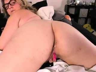 Unexperienced plus-size frolicking double penetration sex tube