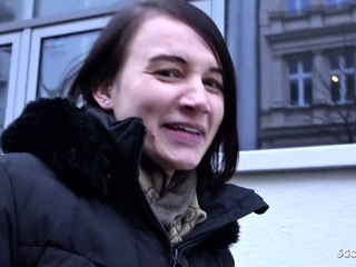 GERMAN SCOUT - lean teenage chat TO shag AT PICK UP audition sextube