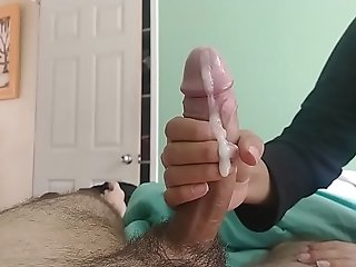 Blowage and hj - With splendid lady free sex