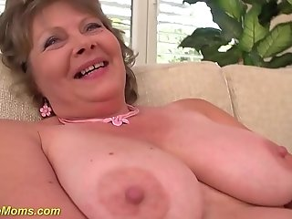 Grandmothers first-ever luxurious porno vid filmed sexvideo
