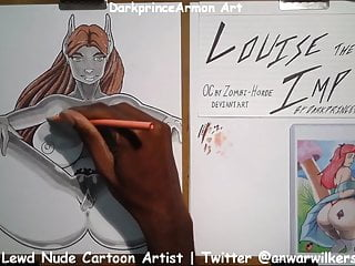 Coloring Louise the Imp at DarkprinceArmon Art sex tube
