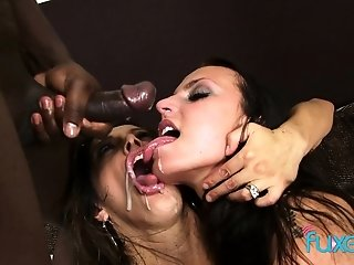 Francesca Le Chanel milky multiracial 3 sex video
