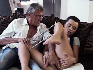 Youthful doll dad What would you prefer - computer or your sexvideo