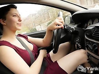 Jenny luvs living and climaxing on the verge. She drives free porn