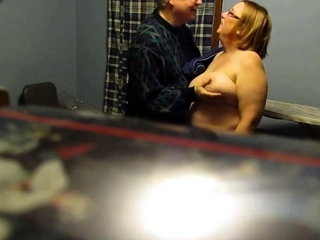 Rubbing unsuspecting damsel porn video