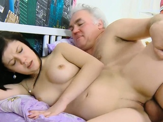 Super-cute russian dark-haired nubile gets pulverized so well porn tube