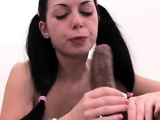 Astounding russian Isabel impressed by thick shlong freeporn