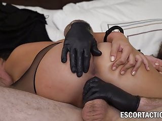 Exquisite sex-positive lady serves to police predominance with fun sex video