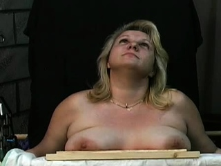 Captivating Candy is sitting on her enormous hump contraption free porn