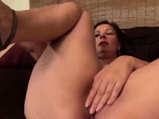USAwives fashionable Matures with intercourse fucktoys getting off best sex