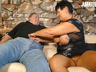 AmateurEuro - scorching plus-size wifey Blows & smashes With hubby On webcam best porn