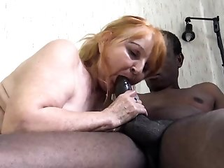 Gross round senior mommy luvs dark-hued stepson best porn