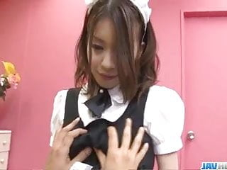 Japan maid, Nao Kojima, covets for her - More at javhd.net sexvideo