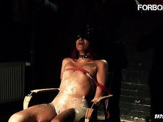 FORBONDAGE - gigantic bum nubile Got super-fucking-hot paraffin wax On Her figure In domination & submission pornvideo