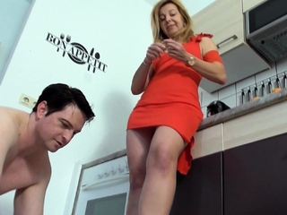 Female dominance Cleaning victims free porn