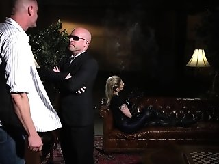 Female dom in leather pegging gigantic boy porntube