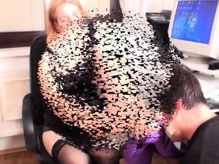Queen Gloria teach her home Office sole sub sextube